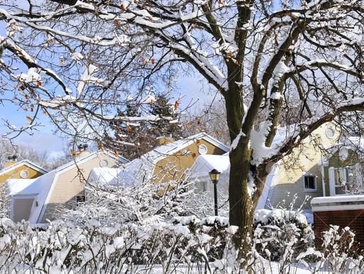 Advertencia de viaje por clima invernal