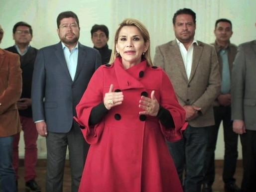 Tribunal boliviano emite una orden de arresto para la ex presidenta interina Jeanine Anez
