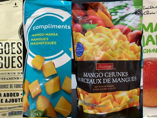 Varios productos de mango congelado son retiradas del mercado por peligrosa contaminación