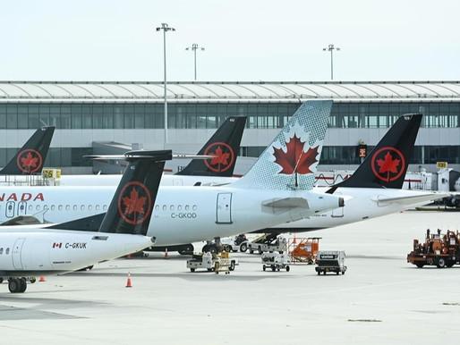 Air Canada suspende más rutas Internacionales