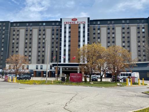 Posible brote de COVID-19 en un hotel de cuarentena