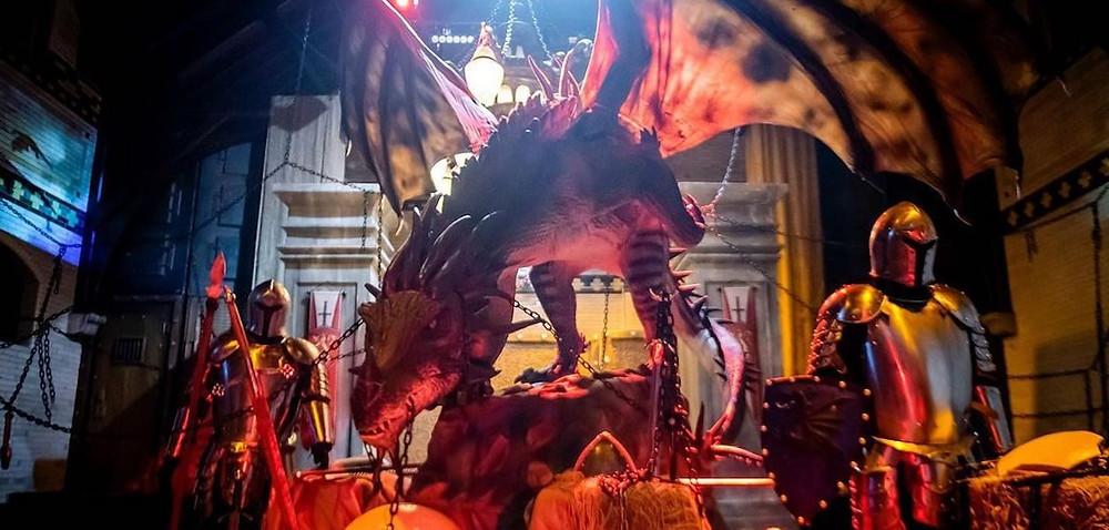 Imagine Dragons Light Forest tiene lugar en los terrenos históricos de Casa Loma.