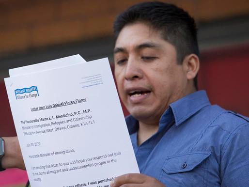 Trabajador migrante despedido por hablar del COVID-19