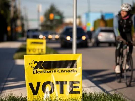 Las urnas de votación federal anticipadas empezaron a funcionar desde el día de hoy