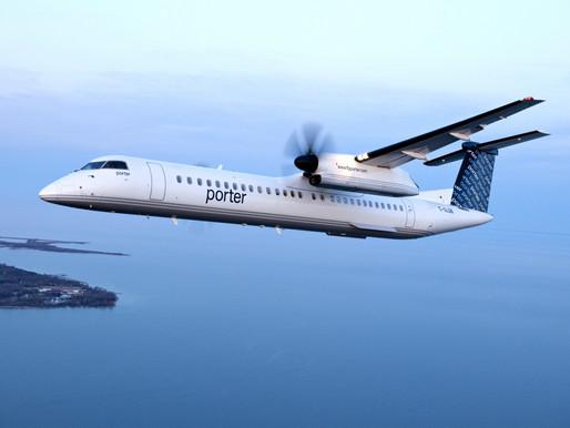 Porter Airlines retrasa el reinicio de operaciones