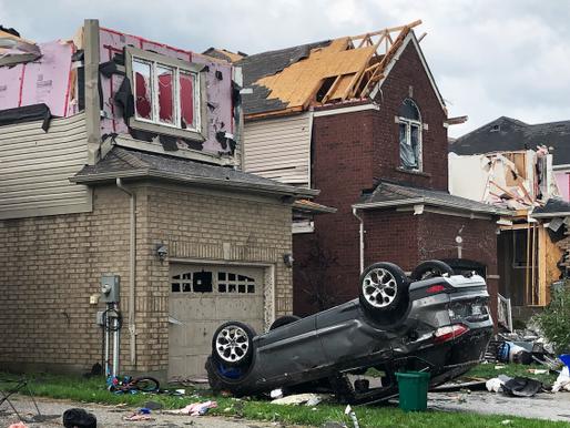 Catastrófico tornado azota a Barrie