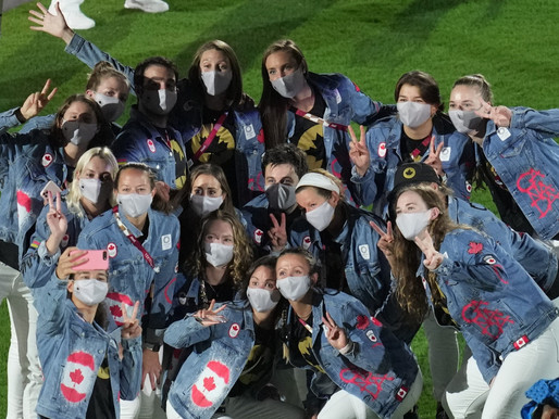 Así fue el cierre de los Juegos Olímpicos de Tokio para el equipo de Canadá