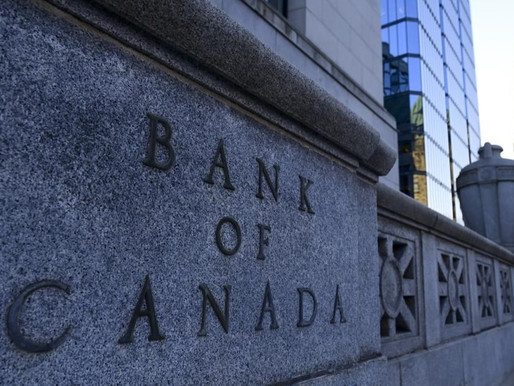 La tasa clave de interés del Banco de Canadá se mantiene estable