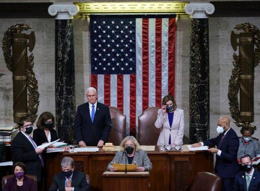 Victoria de Biden confirmada en E.E. U.U.
