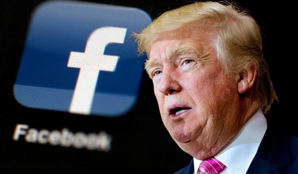 """Facebook e Instagram bloquearán las cuentas de redes sociales del presidente Donald Trump """"indefinidamente""""."""