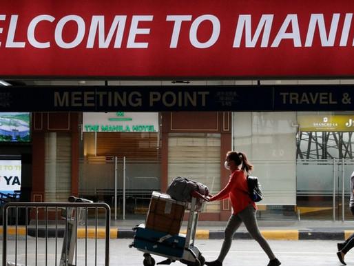 Filipinas extiende prohibición de viajes