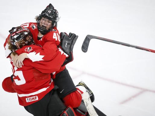 Canadá se lleva el oro en el Campeonato Mundial de Hockey Femenino