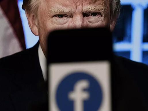 La junta de Facebook defiende la suspensión de la cuenta de Trump