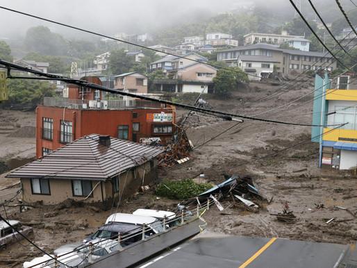 Numerosos desaparecidos luego de un deslizamiento de tierra al oeste de Tokio
