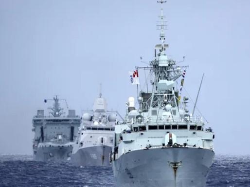 China condena a Canadá y Estados Unidos por enviar buques de guerra a través del Estrecho de Taiwán