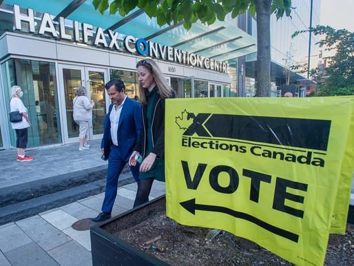 Las urnas se han cerrado en la mayor parte de Canadá