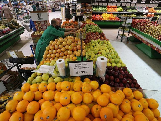 Factura de alimentos aumentará en casi $700