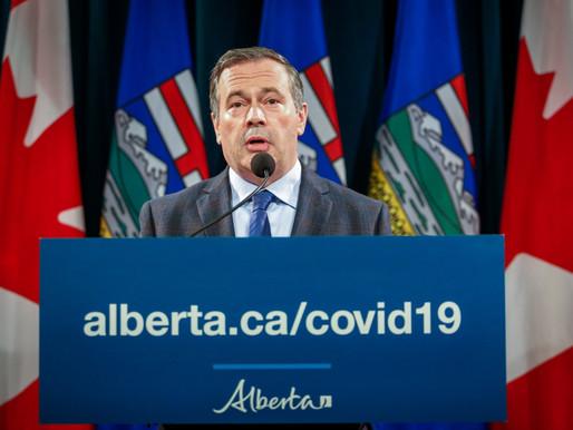 Alberta anuncia estrictas medidas contra la propagación del COVID-19