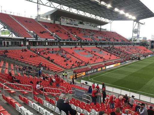 TFC jugará frente a 15 mil fanáticos, la mayor multitud en Toronto desde marzo de 2020