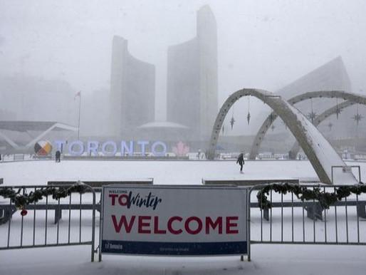 Toronto emite alerta de clima extremo