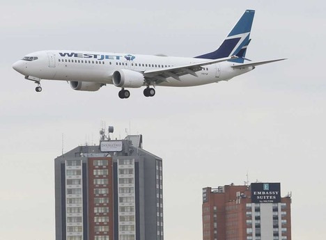 WestJet suspenderá vuelos a cuatro destinos canadienses hasta junio