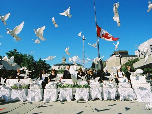 Varias comunidades canadienses conmemoran los ataques del 11 de septiembre en EE. UU.