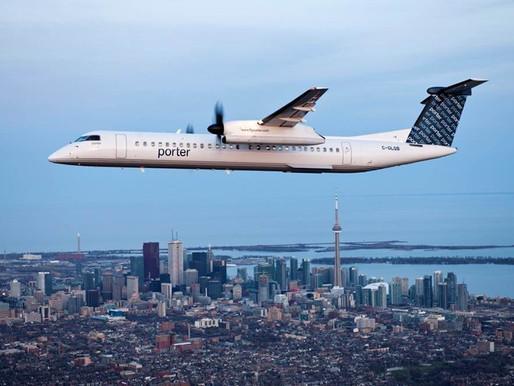 Porter Airlines retrasa la fecha de reinicio de operaciones