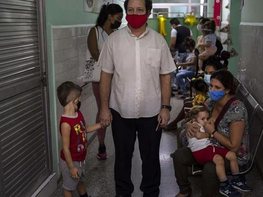 Cuba está administrando la vacuna COVID-19 a niños de tan solo dos años