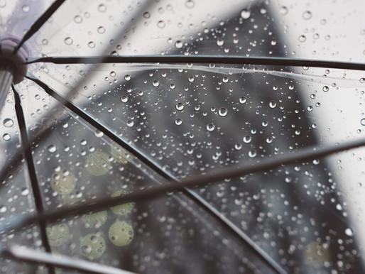 Fuertes lluvias antes de una posible blanca navidad