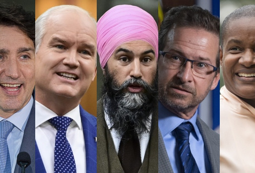 Los líderes de los partidos federales se preparan para el debate en inglés de esta noche
