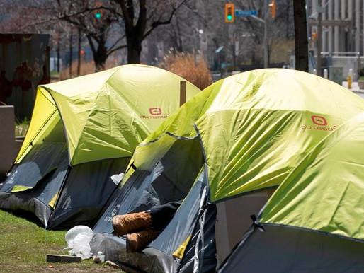 No se evitará la prohibición de campamentos en parques