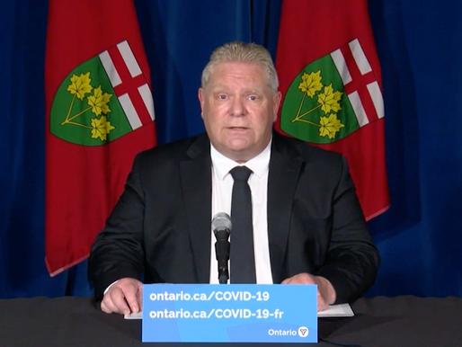Ford anuncia nuevas y estrictas restricciones para la provincia