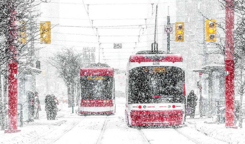 Se avecina un fin de semana nevado para Toronto con hasta 20 cm esperados en medio de temperaturas heladas.
