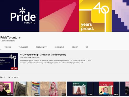 El desfile del orgullo de Toronto será virtual este domingo