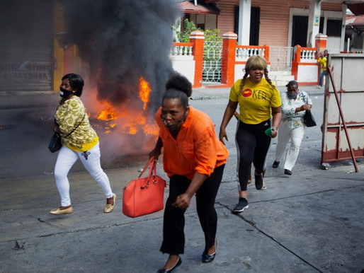 Barricadas arden en Haití en protesta contra el gobierno