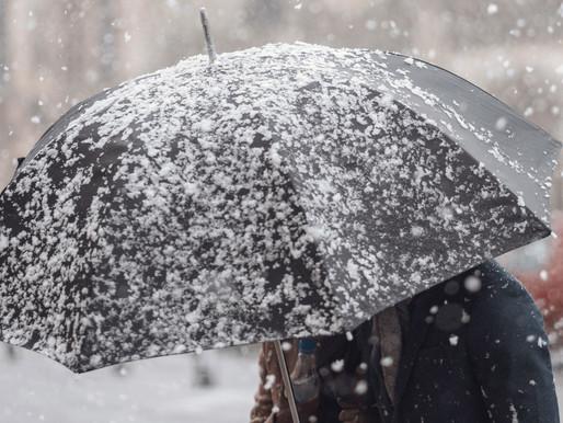 Lluvia y la nieve afectarán el tráfico