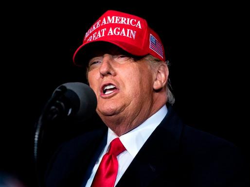 La falsa afirmación de victoria electoral de Trump