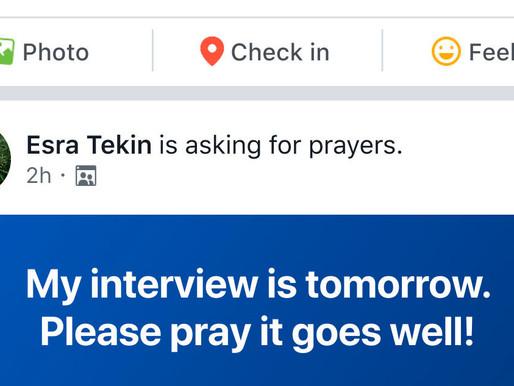 Facebook lanza una herramienta de oración