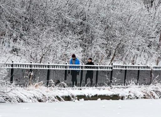 Una mezcla de nieve y lluvia es el pronóstico para el inicio de semana