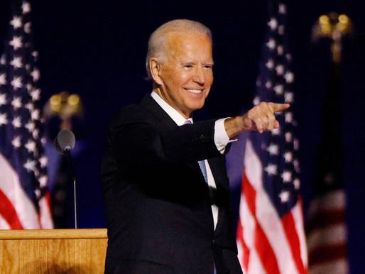 """Biden: """"Este es el momento de sanar en EE. UU."""""""
