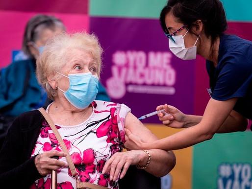 Chile logra la vacunación más masiva y eficiente