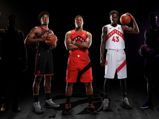 Los Raptors presentan nuevos uniformes