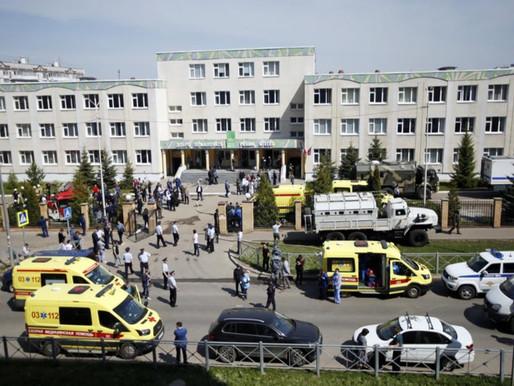 Tiroteo en escuela de Rusia deja ocho muertos y un sospechoso arrestado
