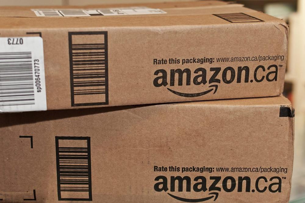 Paquetes de amazon.ca