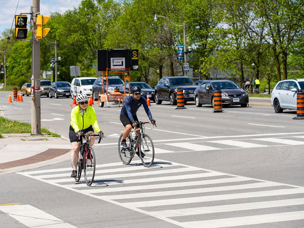 La ciudad de Toronto publica el calendario de ActiveTO para el mes de julio.