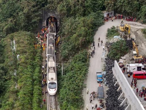 Accidente ferroviario en Taiwán causa numerosas muertes y heridos