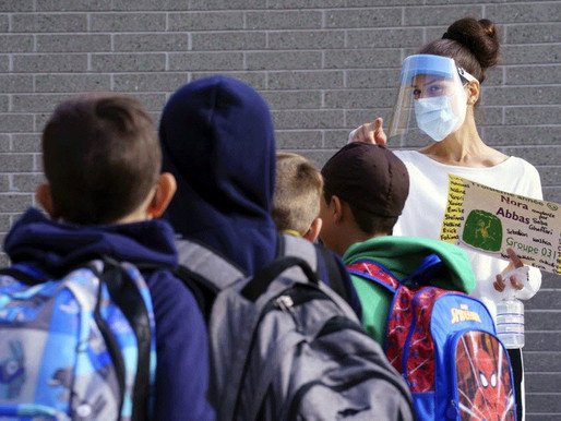 Pruebas escolares asintomáticas de Ontario muestran baja tasa de positividad