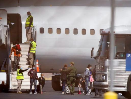 Estados Unidos reanuda vuelos de deportación para familias migrantes centroamericanas