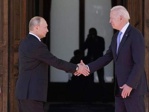 Así fue la cumbre entre Joe Biden y Vladimir Putin