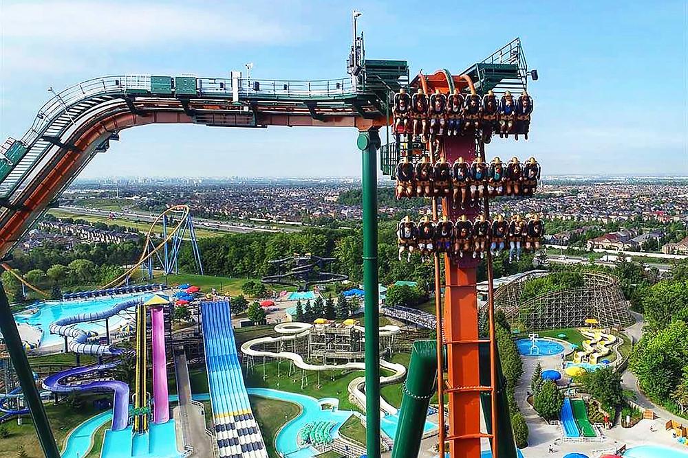 Canada's Wonderland pospone la fecha de apertura del 2021 debido a las restricciones provinciales.